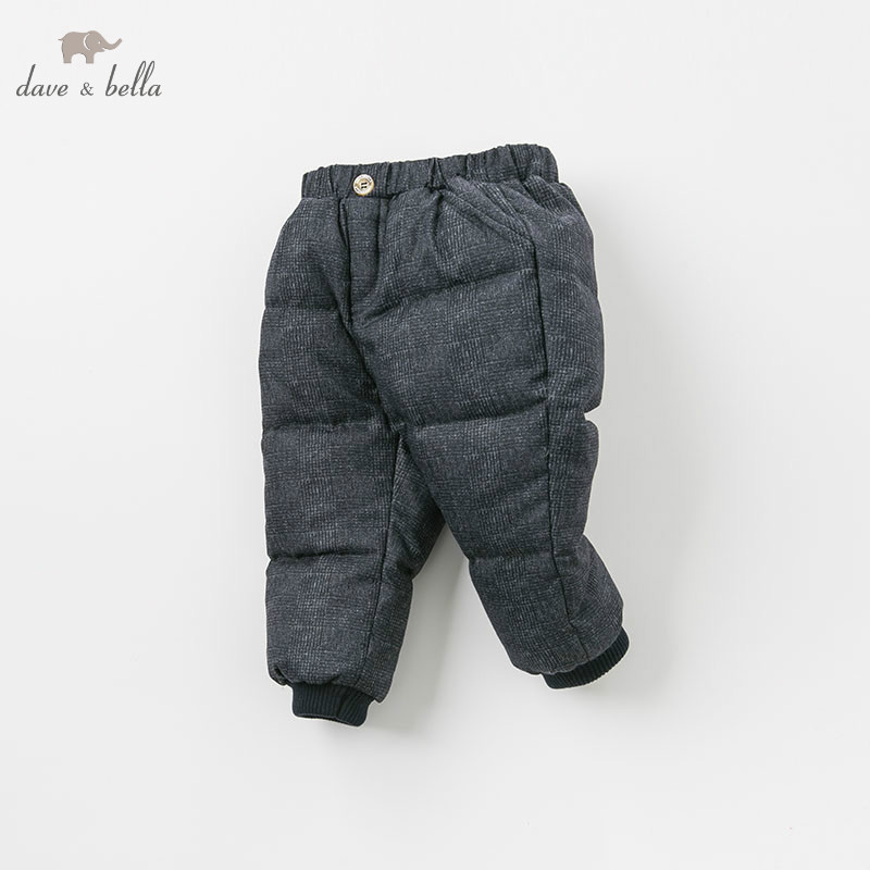 DB9225 dave bella winter boys down pants baby fashion dark grey padded trousers children high quality down trousers DB9225 dave bella winter boys down pants baby fashion dark grey padded trousers children high quality down trousers
