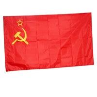 90 x 60 cm CCCP flag Red revolution Union of Soviet Socialist Republics Indoor Outdoor USSR FLAG Russian flag NN001