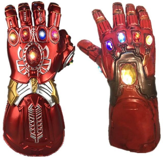 תאנסו Infinity Gauntlet נוקמי מלחמת אינסוף כפפות Superhero תאנסו פעולה איור PVC חדש אוסף דמויות צעצועי אוסף