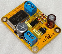 Fast Free Ship 2PCS HIFI Active Clock Board 16 9344M Active Crystal Oscillator STG Unit Active
