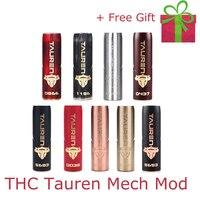 Electronic Cigarette Mech mod Original THC Tauren Mech Mod support single 18650/20700/21700 vs vgod mech pro elite mod