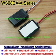 1 Piece Lamp Mirror Touch Dimmer Switch LED Mirror Light Touch Sensor Switch for Home or Hotel Cabinet LED Light Makeup Mirror mk ws05al ultrathin design easy control oem wall mounted led touch light switch cabinet light dimmer switch to adjust light