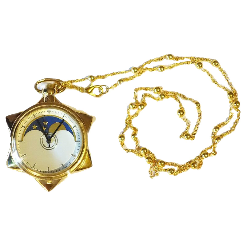 Anime Jepun Sailor Moon Moonlight Memori 20th Anniversary Crystal Kalung rantai loket