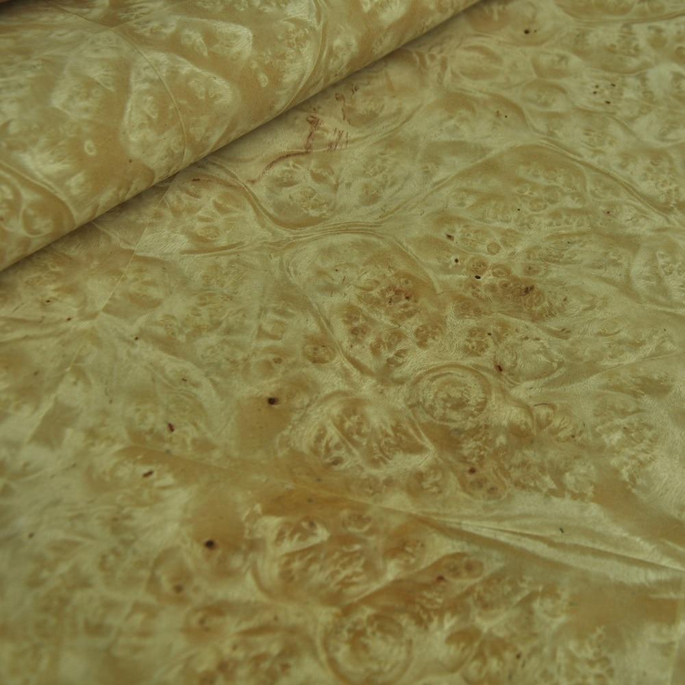 Natural Burl Veneer Golden Camphor