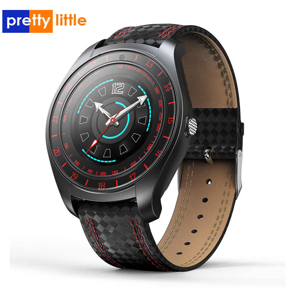 Smart Watch Pria Android SIM Kamera Tahan Air V10 Tekanan Darah Denyut Jantung Kebugaran Smartwatch Bluetooth Speaker Sport Watch