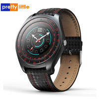 smart watch men android sim Camera waterproof V10 blood pressure heart rate fitness smartwatch bluetooth speaker sport watch