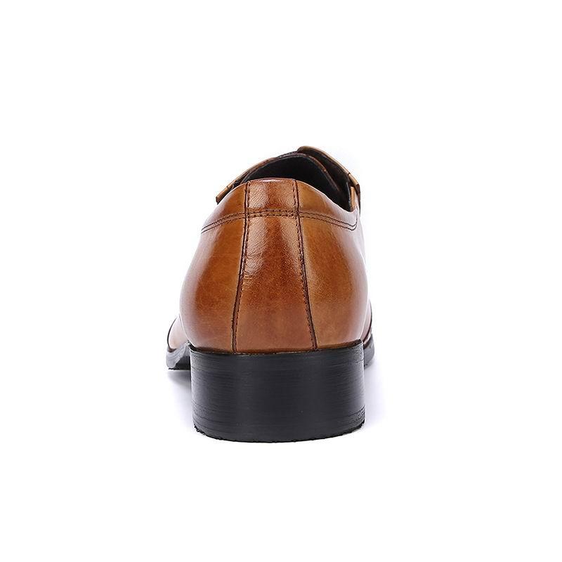 37 gelb Errfc Party Kleid Echte Lederne Größe Männer Für Brogue 45 Formale Schwarzes Schuhe Braun Verkauf Mode Heißer Tx6qTgnSv