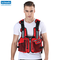 Men's Life Vest For Fishing Water Sport Safety Foam Flotation Swimming Life Jacket Buoyancy Vest Kayaking Snorkeling Tank