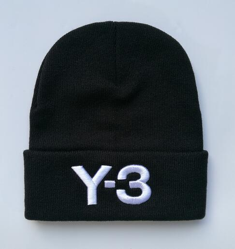 b8e8f8ef55b81 Winter Hat Embroidery Hiphop Y-3 Beanies And Whatever Knitted Hats Caps for