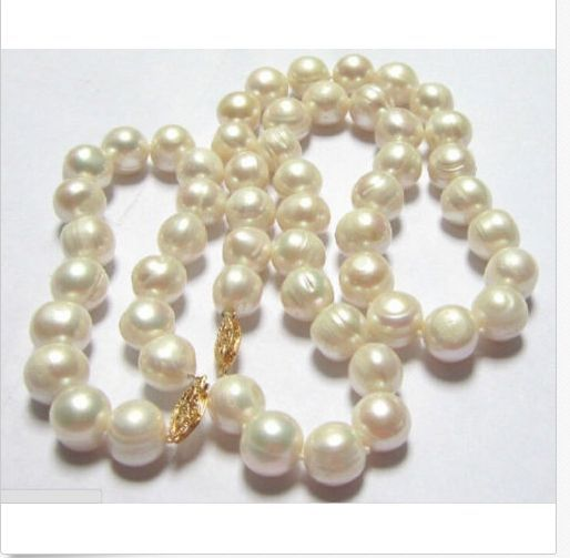 set of 10-12mm huge south sea white baroque pearl necklace18 &bracelet7.5-8set of 10-12mm huge south sea white baroque pearl necklace18 &bracelet7.5-8