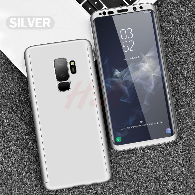 H&A Luxury 360 Full Cover Phone Case For Samsung Galaxy S10 S9 S8 Plus S7 Edge Note 9 8 Shockproof Cover S10 lite Fundas Capa