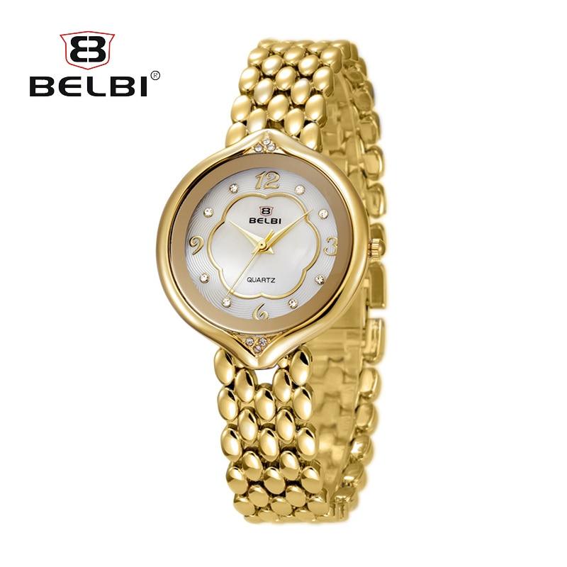 BELBI Fashion Diamond Women Watches Sports Ladies Casual Analog Wristwatch Quartz Clock Crystal Luxury Relojes Mujer women luxury stainless steel watch cyd new quartz fashion casual watches mujer ladies analog bracelet wristwatch unique relojes