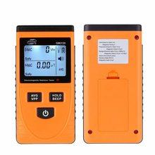Testador de Radiação eletromagnética Detector EMF Medidor Dosimeter Contador com LCD