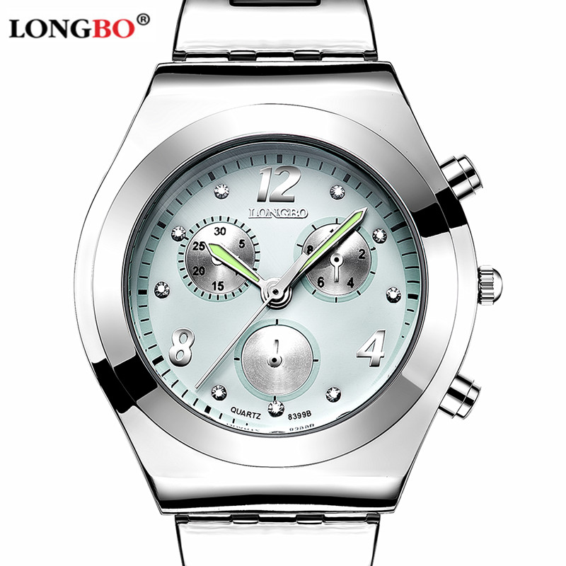 LONGBO Luxury Brand Women Watch Ladies Quartz Watch Women Waterproof Wristwatch Relogio Feminino Montre Femme Reloj Mujer luxury brand women diamond quartz watch ladies female dress wristwatch rotatable dial watche s montre femme relojes mujer