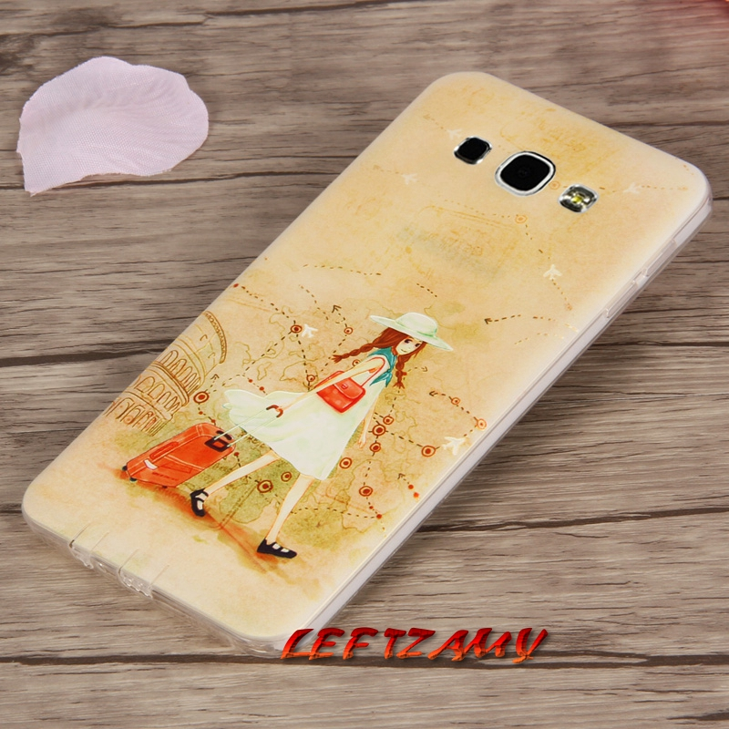 Inventive Cute Cartoon Stich Coque Soft Tpu Silicone Phone Case Cover For Samsung Galaxy A3 2016 A5 2017 A7 J3 J5 2015 J7 2017 Good Heat Preservation Phone Pouch