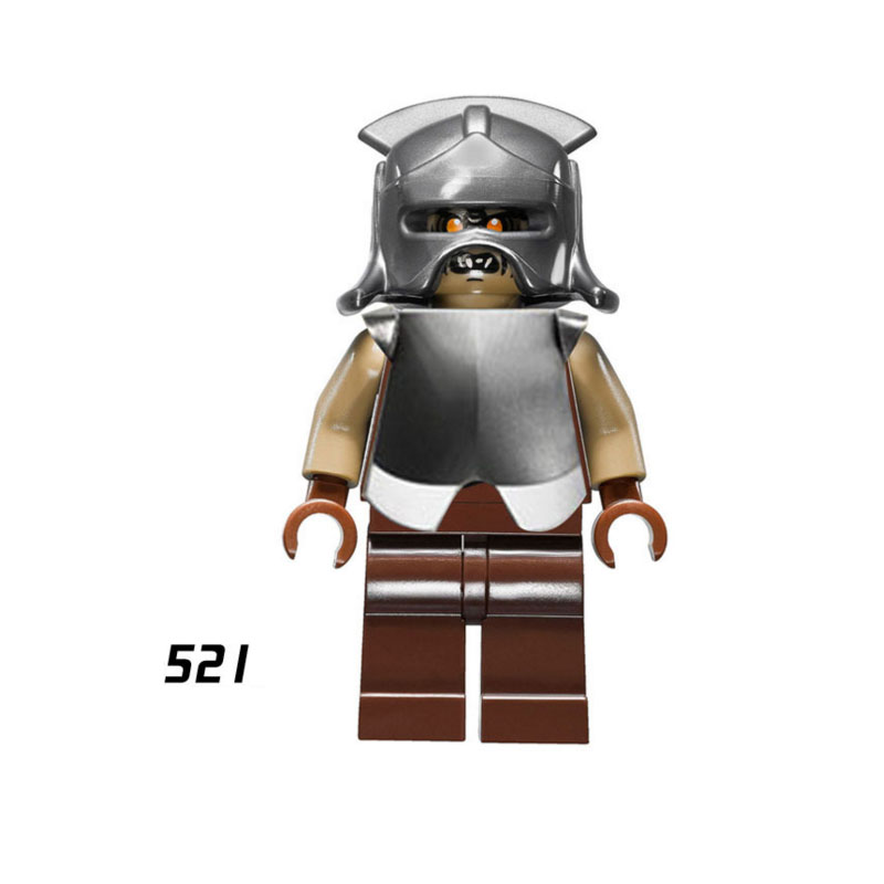 Single Sale The Lord Of The Rings The Hobbit 521 Orc Ork Building Blocks Figure Bricks Toys Kids Gifts Compatible Legoed Ninjaed