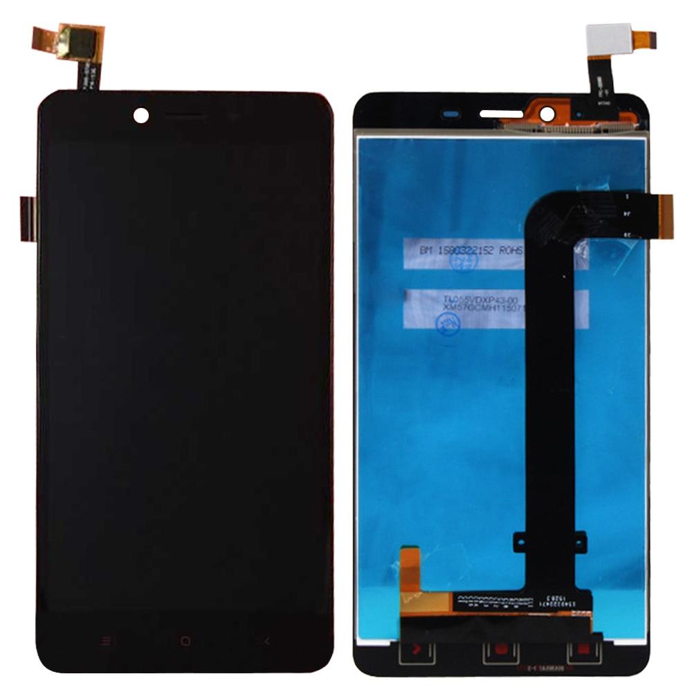 Pantalla lcd y la asamblea de pantalla táctil para xiaomi redmi note 2 accesorio