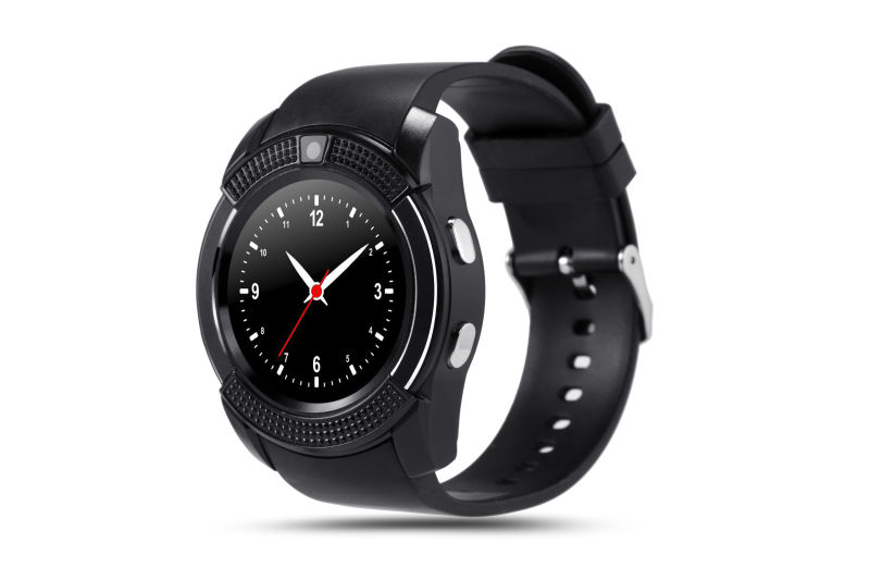Round Sport Watch Full Screen Smart Watch V8 For Android ...