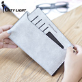 Women wallet  long style purse  fashion vintage simple ultra - thin zipper multi-function wallet student card holder