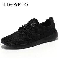Hot Sale Men Shoes Breathable Casual Shoes High Quality Lightweight Laces Unisex Male Shoes Footwear Plus