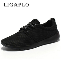 Hot Sale Men Shoes Breathable Casual Shoes High Quality Lightweight Laces Unisex Male Shoes Footwear Plus
