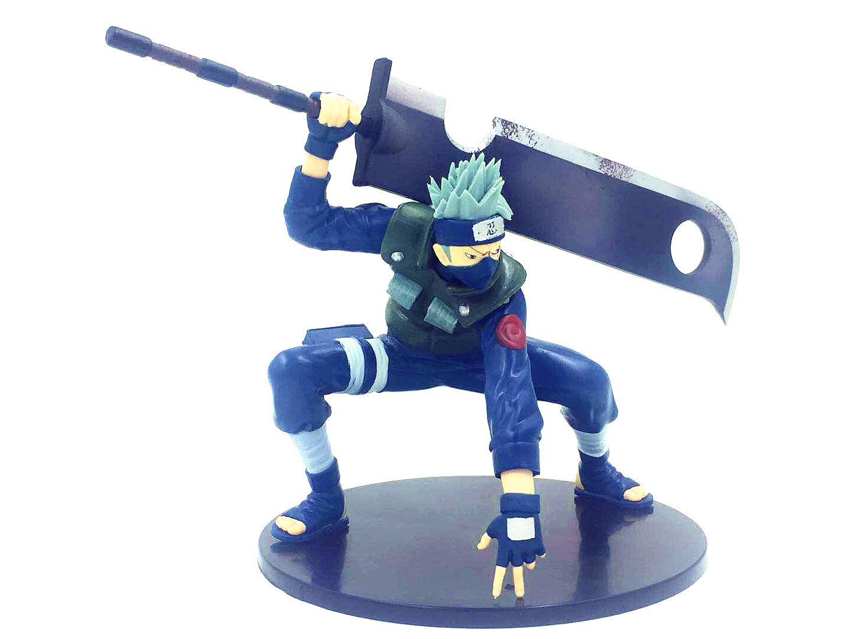 22CM Japanese Naruto PVC Kakashi Anime Figure Model Toys Collection Anime Doll