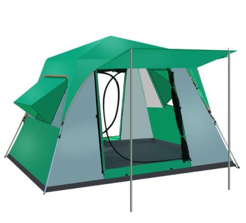 5 6 8 человек алюминий/сталь полюс автоматический для Быстрого Открывания гидравлический Открытый отдых дикий большой палатка кемпинговая п