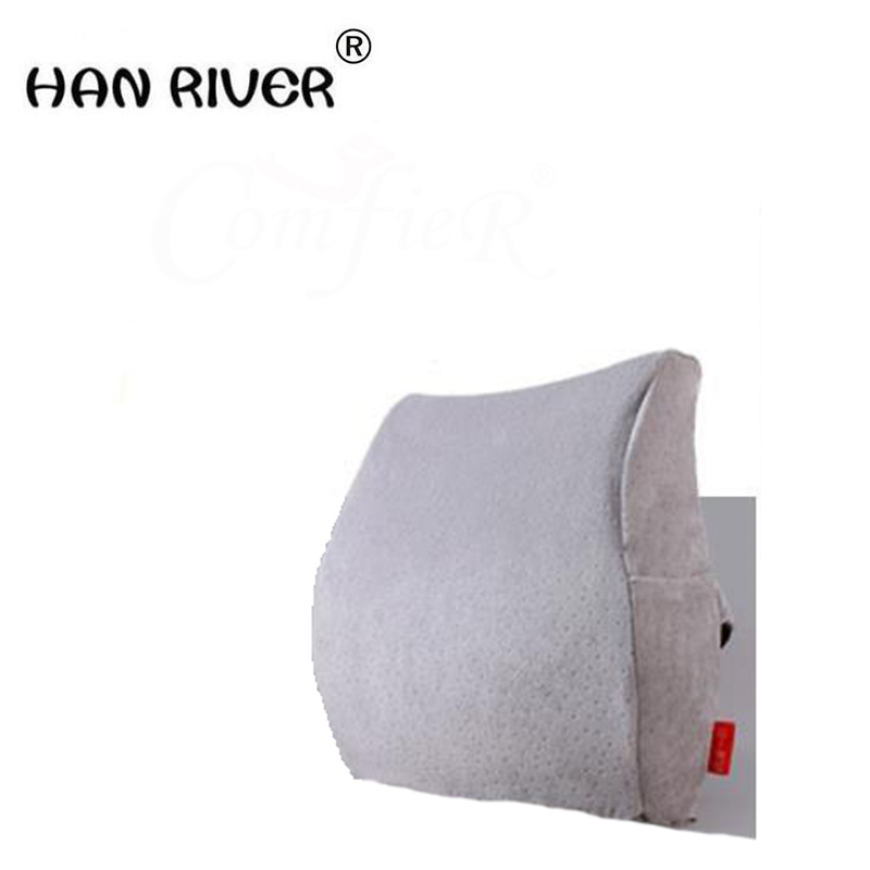 To protect the waist waist by memory cotton pillows office chair cushion for leaning on waist cushion car waist pillow big seat memory cotton vehicle waist cushion car pillow protector with back