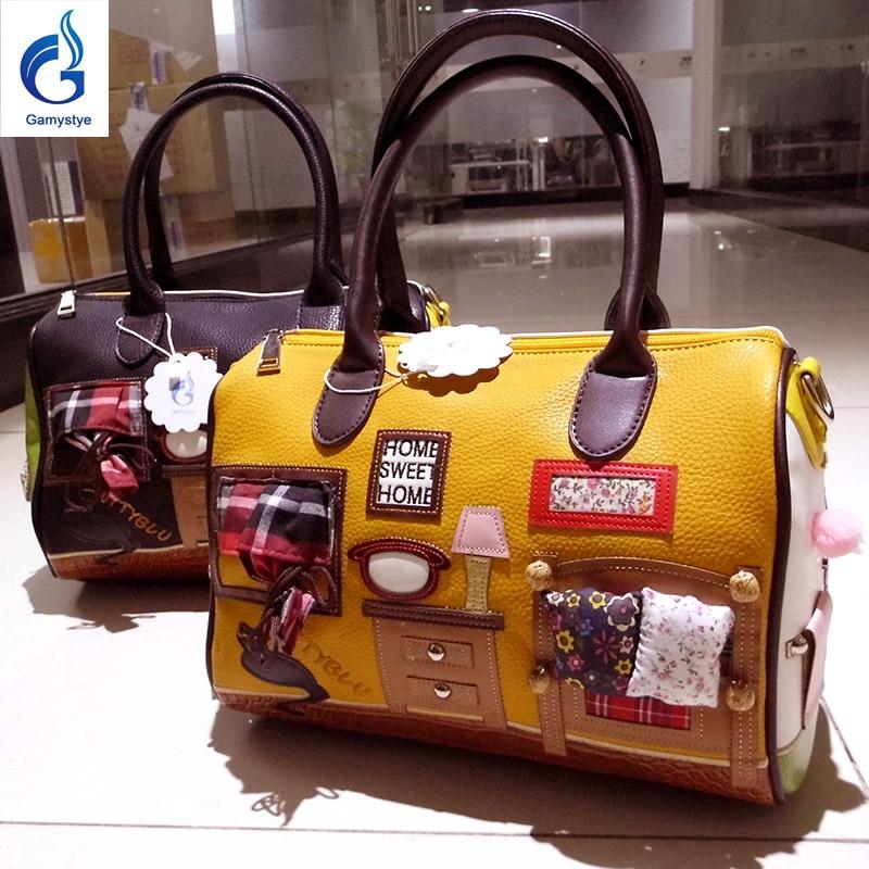 new casual women shoulder bags embroidery Handbags Art Retro Handmade Bolsas fa