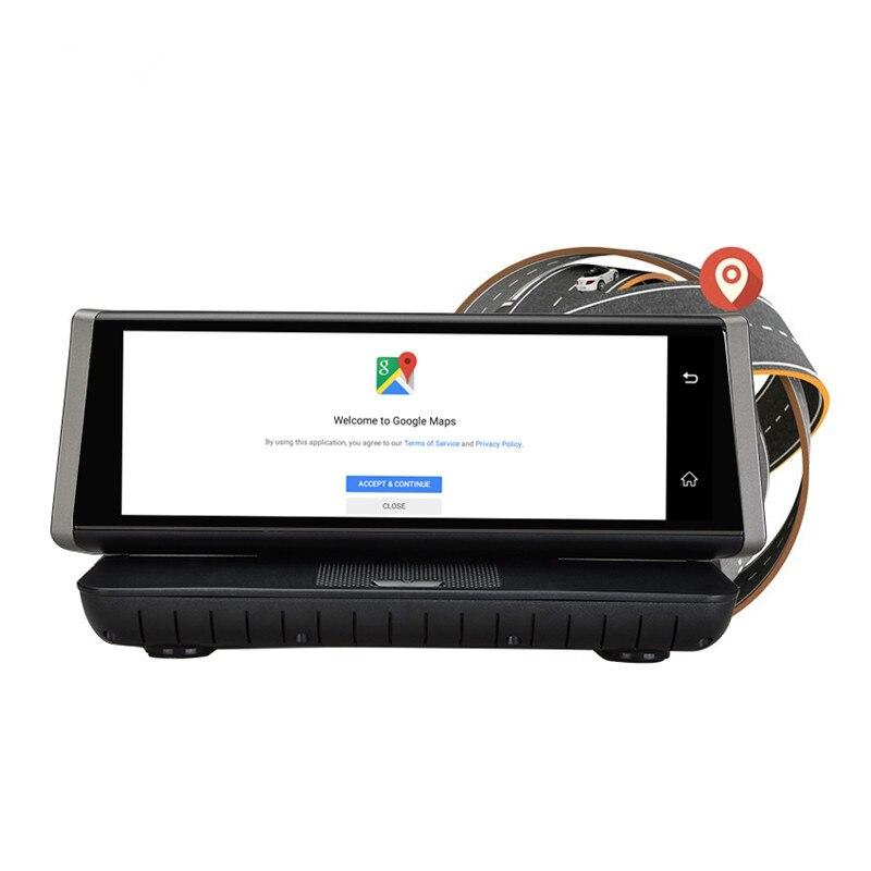 CARCHET E02 car dvr camera 8Touch 4G Android wifi GPS Full HD 1080P Video Recorder Dual Lens Registrar Dash cam