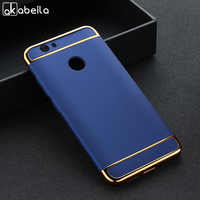 AKABEILA Case For Huawei Nova CAN-L12 CAN-L11 CAN-L01 CAN-L02 Cases For Huawei Nova 2 2S Plus Covers Plating Hard Plastic Shells