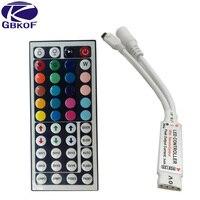 GBKOF 1pcs 12V 6A 44Key MINI IR Remote RGB led Controller for Flexible SMD3528 5050 5630 2835 RGB LED SMD Strip Lights