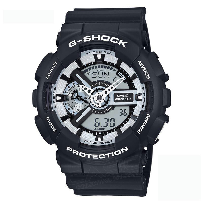 Casio g-shock watch Genuine watches male G-shock sports watches Waterproof shockproof Watch men GA-110HC-1A casio ga 110hc 1a
