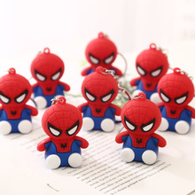 Lovely Fashionable Movie Spider Man Keychain Hero Homecoming Car Key Ring Pendant Spiderman Keychains Toys Women