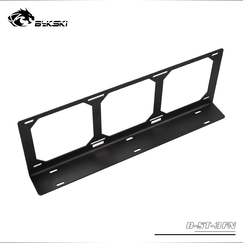 Bykski Water Cooling Radiator Metal Flat Bracket / Size 120mm / Use For 12cm-24cm-36cm Fan Radiator Bracket