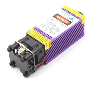 Image 2 - oxlasers NEW 450nm 2.5W 3.5W Blue Laser Head 4W 5W Focusable Laser Module for DIY Laser Engraver with PWM