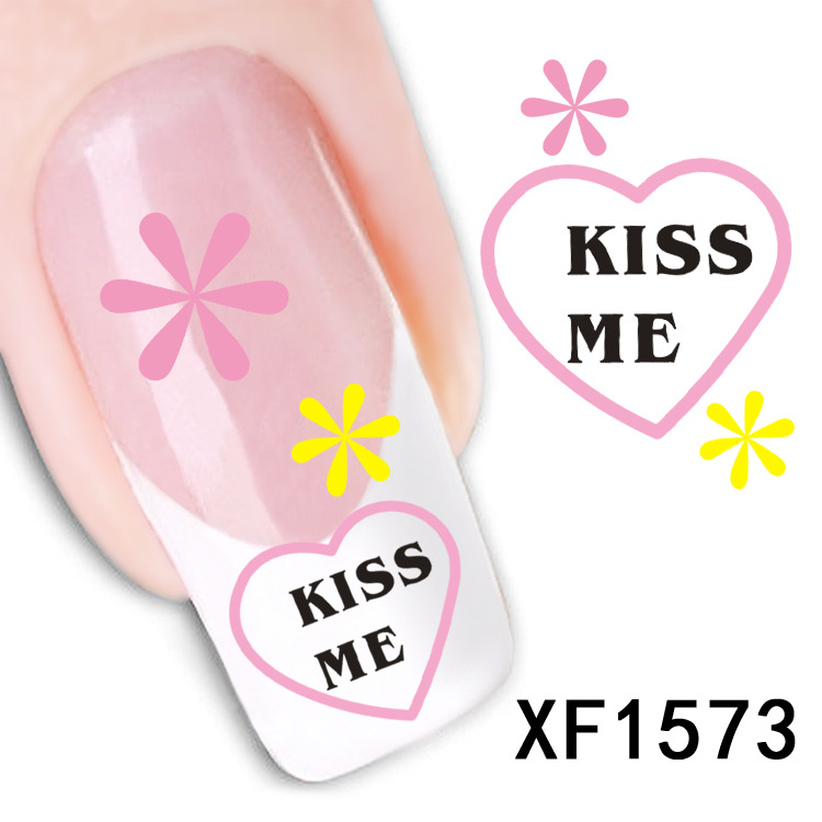₩2018 Special Offer Top Fashion Manicure Nails 2 Sheet Kiss Me ...