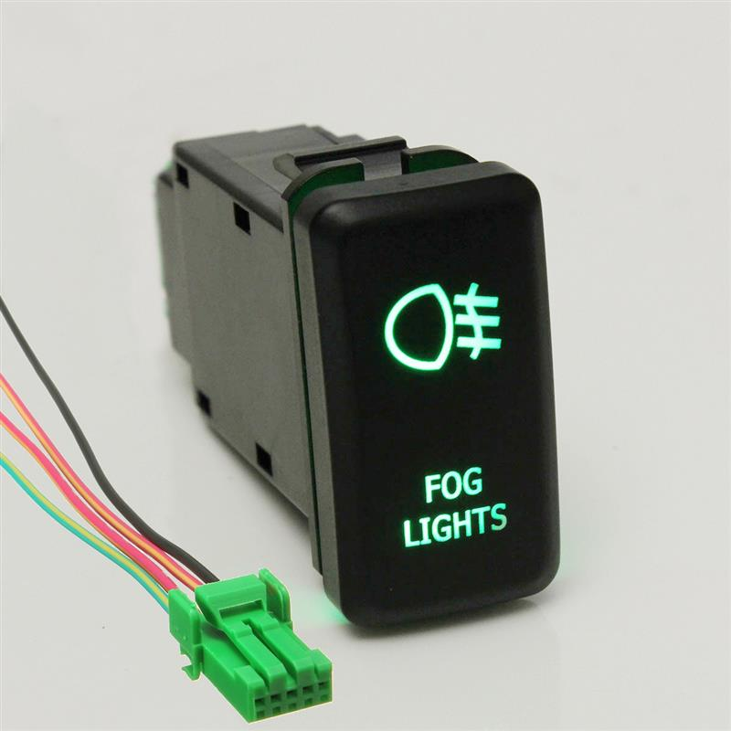 HTB1zJ8YLXXXXXaoXXXXq6xXFXXXX 12v 20a bar arb 5p push rocker toggle switch blue led light  at crackthecode.co