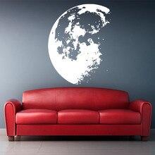 removable Moon house art