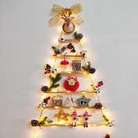 Navidad 2019 estilo nórdico crianças quarto decoração berçário sonho apanhador de parede tapeçarias árvore forma moderno natal ornamentos natal