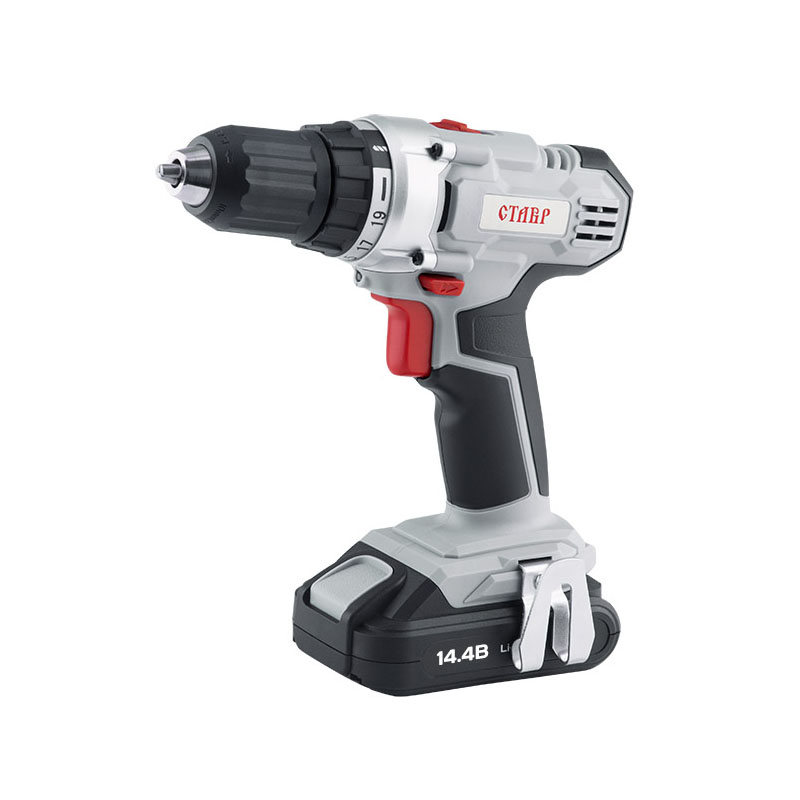 Cordless Drill/Driver Stavr DA-14.4/2LM wosai 20v lithium battery max torque 380n m 4 0ah brushless electric impact wrench diy cordless drill cordless wrench