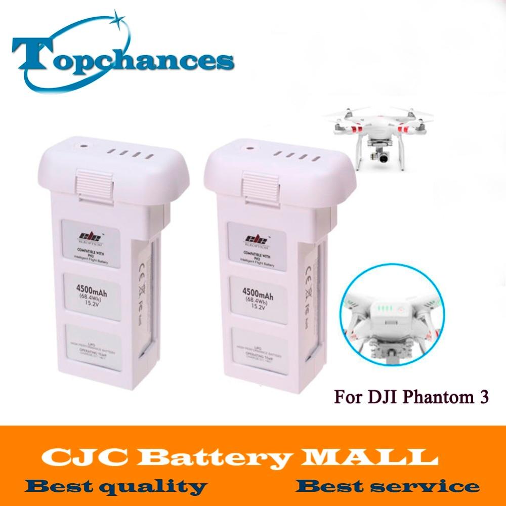 2x Высокое качество Горячая lipo 15.2 В 4500 мАч Перезаряжаемые Батарея для DJI Phantom 3 professional Акку Бесплатная доставка