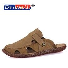 Sandals Men Slippers New Arrive Shoe Fashion Hombre Beach Shoes Men's Sandals Brand Leather Sandals for Men Shoes M5B2T31421