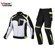 MOTOCENTRIC Motorcycle Jacket Waterproof Moto Jacket + Motorcycle Pants Riding Racing Motorbike Clothing Moto Body Armor все цены