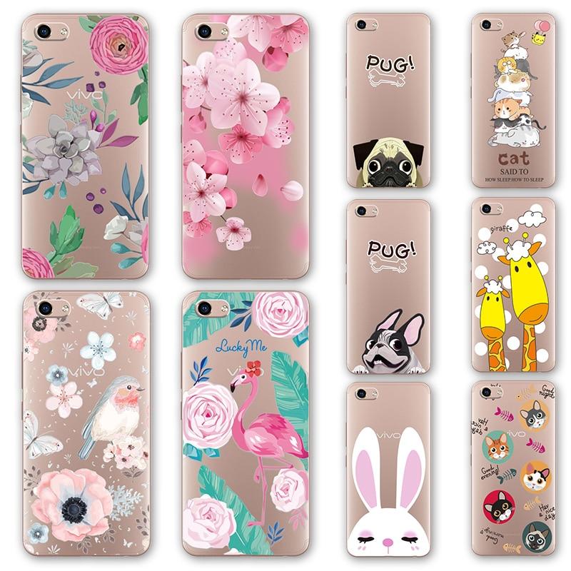 best website 94cef 78739 US $1.03 30% OFF|For Vivo Y81 3D Relief Phone Case Floral Cartoon Peach  Lace VivoY81 Silicone Back Cover For Vivo Y81 Y 81 Mobile Case Capa 6.22