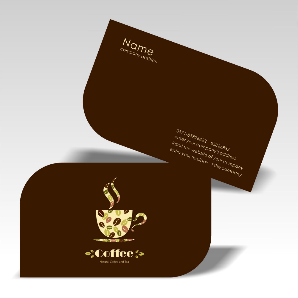 Lovely Special Shaped Business Cards Photos - Business Card Ideas ...