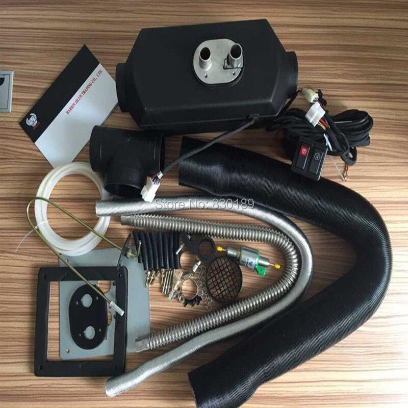 (2 KW 12 V/24 V) calentador de estacionamiento de aire para camión caravana de diésel, Webasto a 2000, eberspacher d2