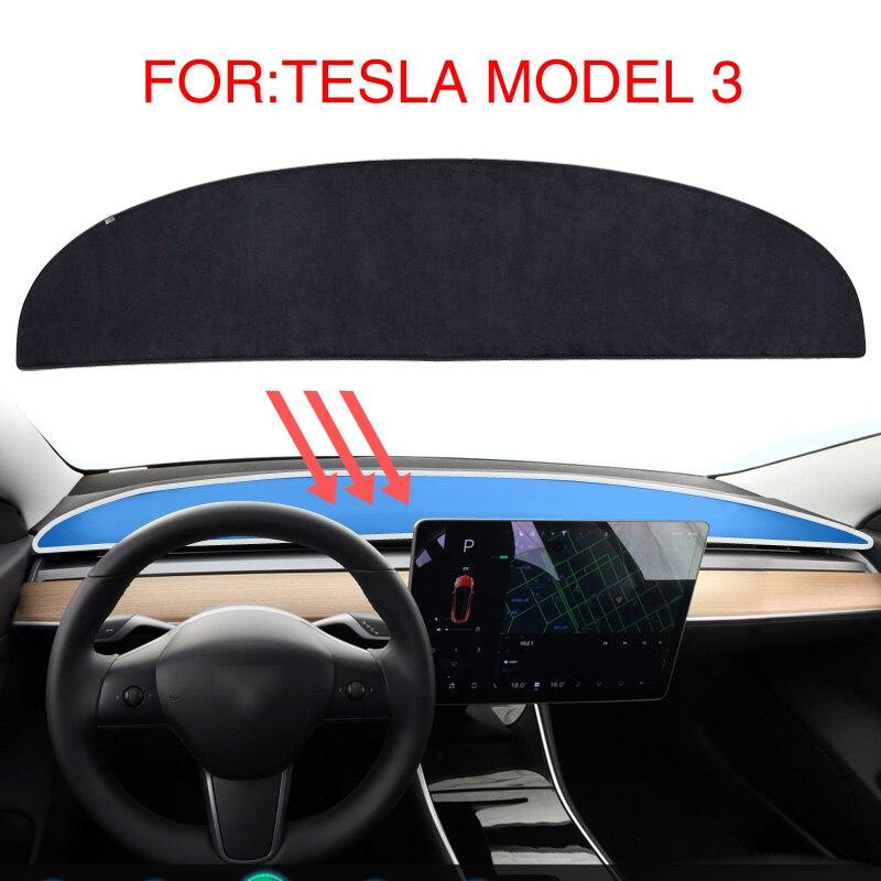 SMABEE Dash Mat For Tesla MODEL 3 2017 2018 2019 Dashmat