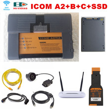 Top ICOM A2+B+C for BMW ODB2 Scanner ICOM A2+B+C+2017 03 software SSD with WIFI obd2 diagnostic tools Free router Free Shipping(China (Mainland))