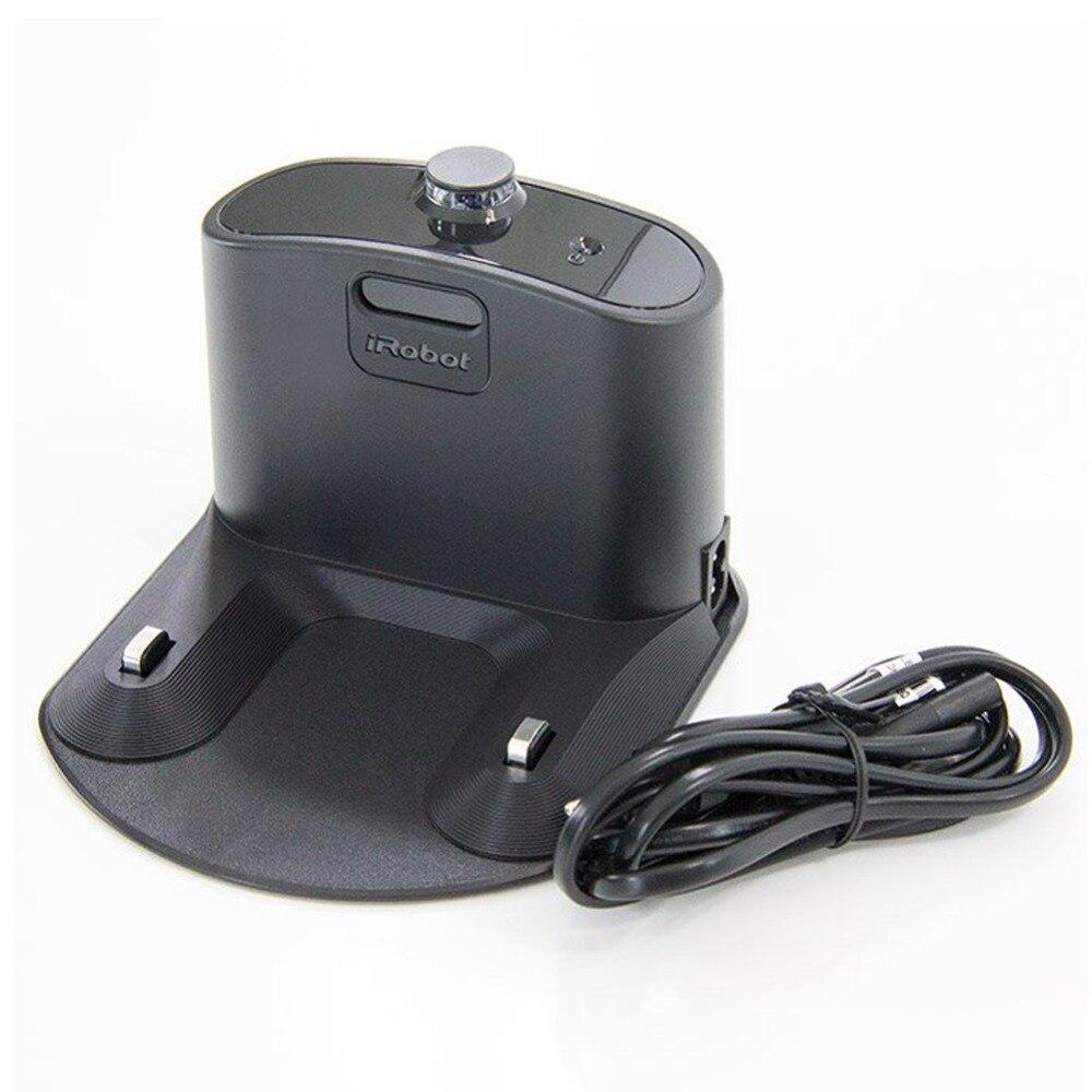 Base de carregamento para IRobot Roomba 550 595 620 630 650 660 760 770 780 500 600 700 Series Robótico carregador de vácuo Peças Mais Limpas
